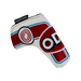 Odyssey Racing Blade Headcover Red/White - View 3