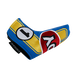 Odyssey Racing Blade Headcover Yellow/Blue - View 2