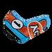 Odyssey Racing Blade Light Blue/Orange Headcover - View 2