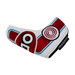 Odyssey Racing Blade Headcover Red/White - View 4