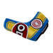Odyssey Racing Blade Headcover Yellow/Blue - View 4
