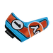 Odyssey Racing Blade Light Blue/Orange Headcover - View 2