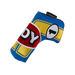 Odyssey Racing Blade Headcover Yellow/Blue - View 1