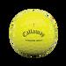 Chrome Soft Yellow Triple Track Golf Balls - View 3